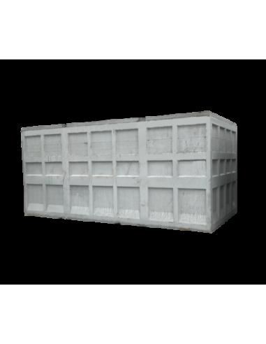 Cuve béton rectangulaire 25000L
