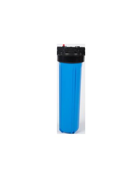 "Porte filtre BIG BLUE simple 20"""
