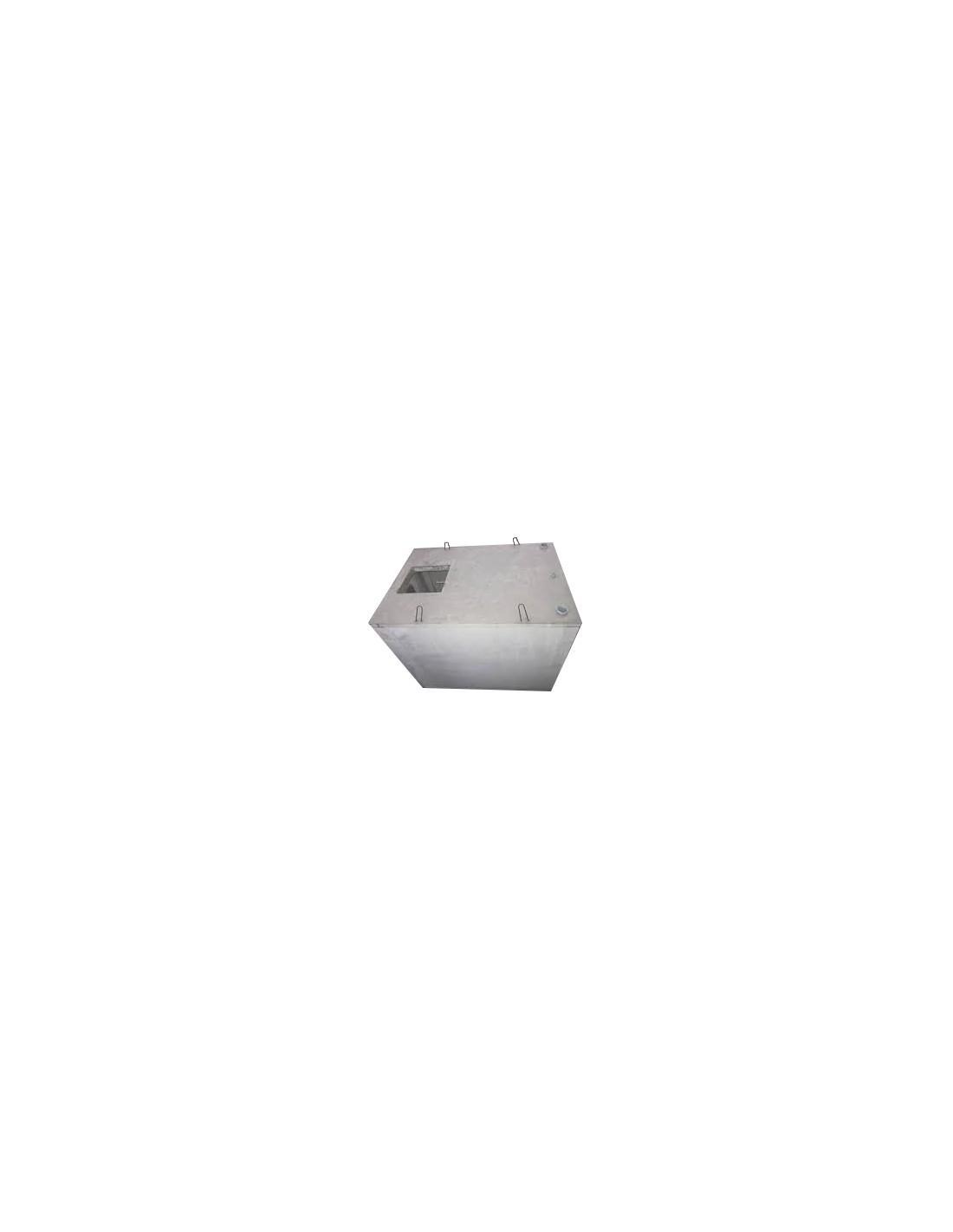Cuve béton rectangulaire 4000L - Vente et pose de Cuves ... - Cuve Beton