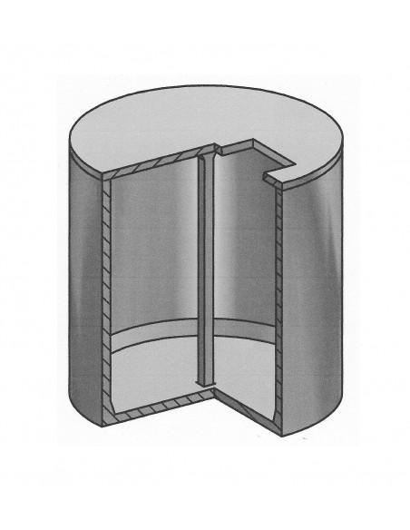 Cuve béton ronde 10000L