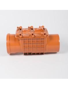 Clapet anti-retour PVC enterré, diamètre 10 cm