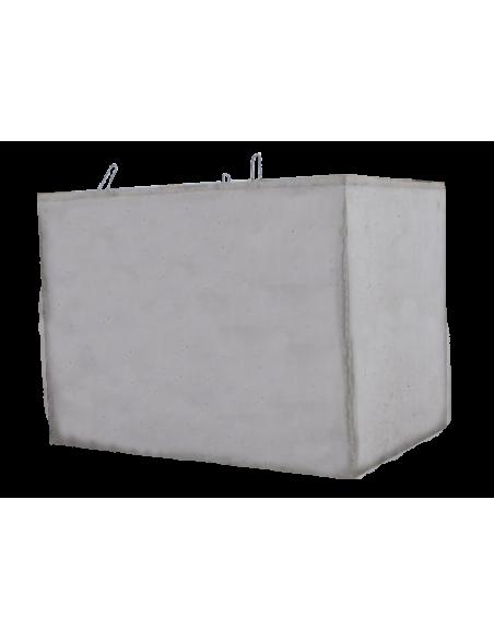 Cuve béton rectangulaire 4000L