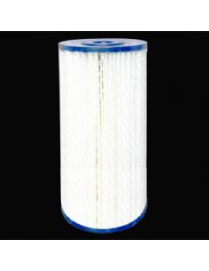 Cartouche plissée lavable 10 pouces  filtration 1 micron
