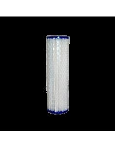 Cartouche plissée lavable 20 pouces  filtration 1 micron