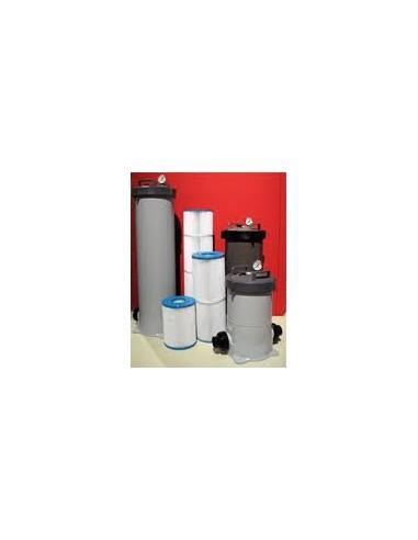 Colonne filtre PR75 avec 10L charbon actif et cartouche 10 µ
