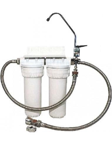 Nanofiltration complète avec carbo-filtration